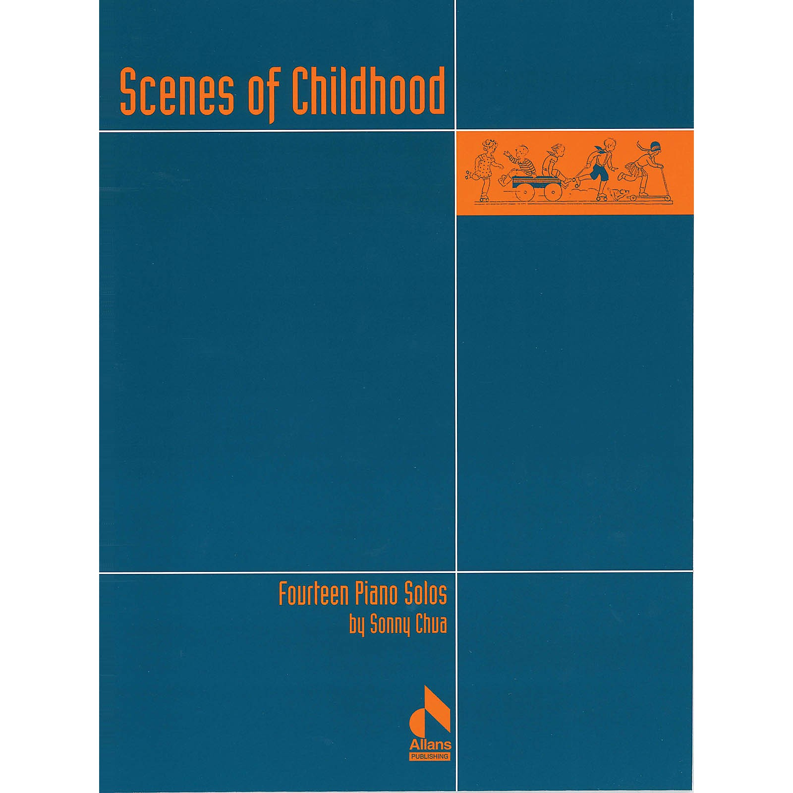 Allans Publishing Scenes of Childhood (Fourteen Piano Solos) Piano Solo Series Softcover