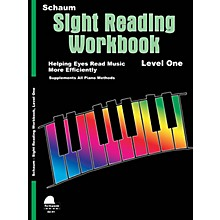 SCHAUM Schaum Sight Reading Workbook (Level 1) Educational Piano Book