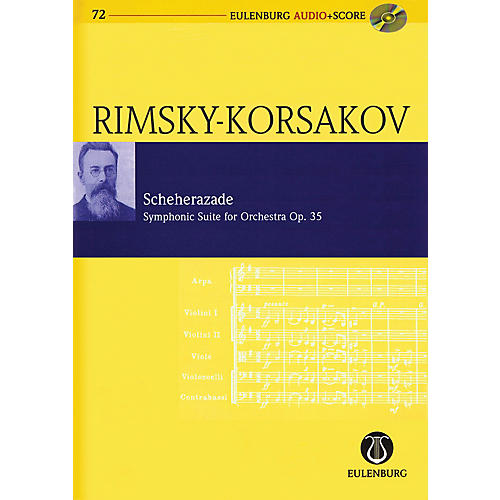 Eulenburg Scheherazade Symphonic Suite For Orch, Op. 35 Eulenberg Audio plus Score with CD by Rimsky-Korsakov