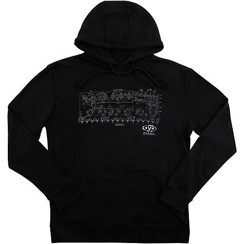 EVH Schematic Fleece Medium Black
