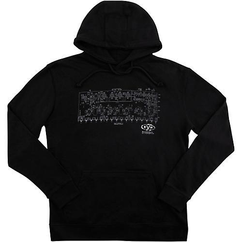 EVH Schematic Fleece Small Black