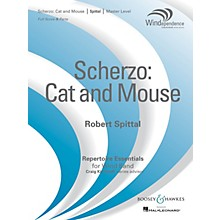 Boosey and Hawkes Scherzo: Cat and Mouse (Score Only) Concert Band Level 4 Composed by Robert Spittal