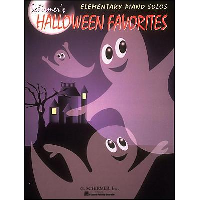 G. Schirmer Schirmer's Halloween Favorites Elementary Piano Solos