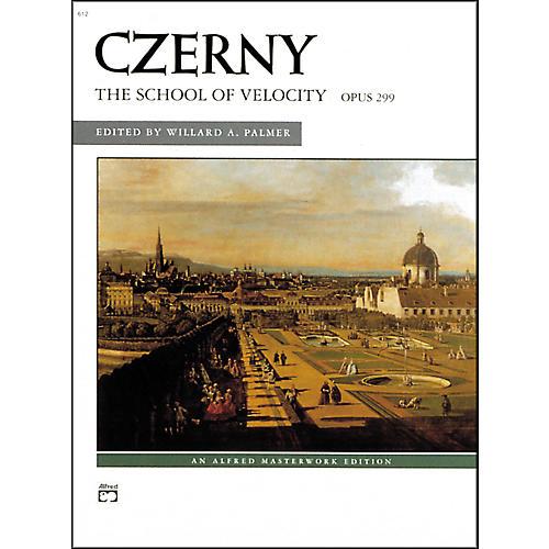 Alfred School of Velocity Op. 299 (Complete) Intermediate/Advanced Piano