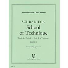 Schott School of Viola Technique - Volume 1 Schott Composed by Heinrich Schradieck Arranged by Paul Wright