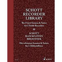 Schott Schott Recorder Library Woodwind Series Softcover