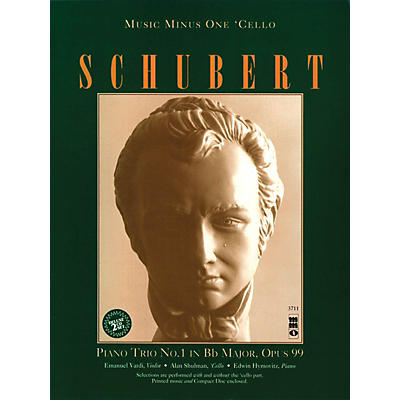Music Minus One Schubert - Piano Trio in B-flat Major, Op. 99 Music Minus One Series Softcover with CD by Franz Schubert