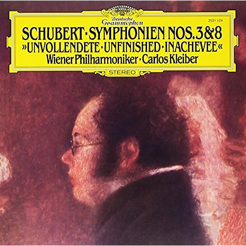 Alliance Schubert: Symphonies Nos 3 & 8 Unfinished
