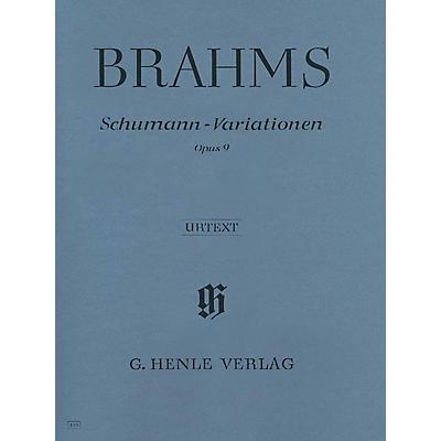 G. Henle Verlag Schumann-Variations Op. 9