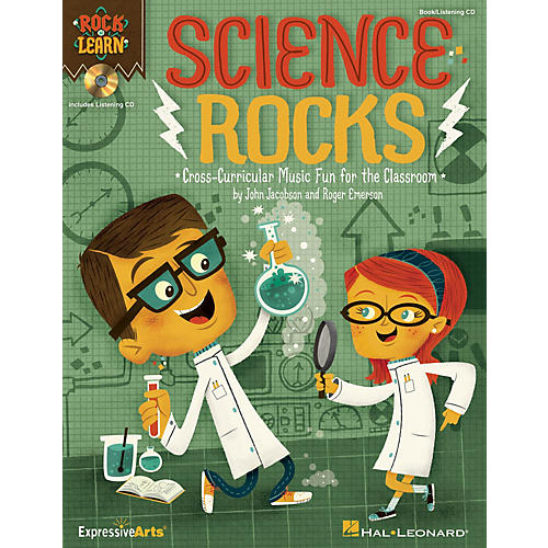 Hal Leonard Science Rocks! Performance/Accompaniment CD Composed by John Jacobson