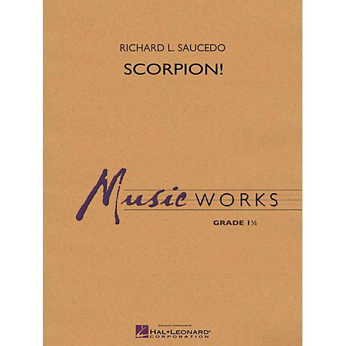 Hal Leonard Scorpion! - MusicWorks Concert Band Grade 1