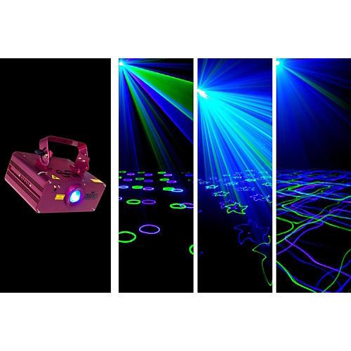 CHAUVET DJ Scorpion Burst green and blue laser with patterns