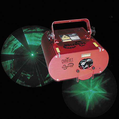 CHAUVET DJ Scorpion Scan Green Laser