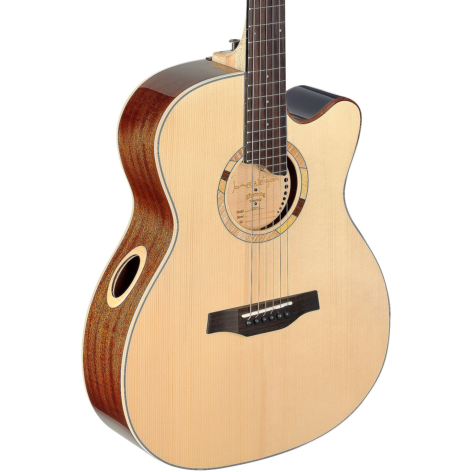 JN Guitars Scotia SCO-A Auditorium Acoustic Guitar