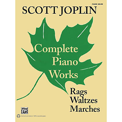 Alfred Scott Joplin - Complete Piano Works Early Advanced Piano Collection