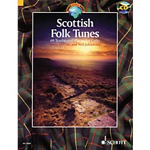 Schott Scottish Folk Tunes (69 Traditional Pieces for Cello) String Series Softcover with CD