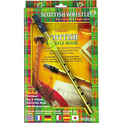 Waltons Scottish Tin Whistle Value Pack