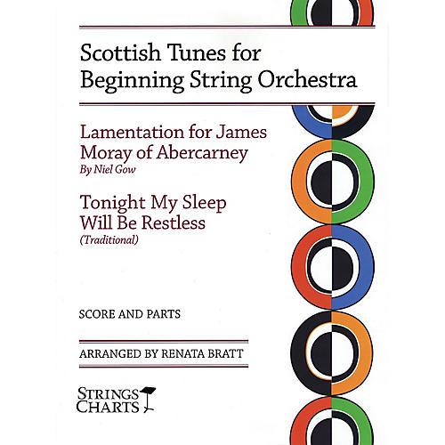 String Letter Publishing Scottish Tunes for Beginning String Orchestra String Letter Publishing Series Slick Wrap by Renata Bratt
