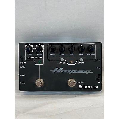 Ampeg Scr Di Bass Effect Pedal