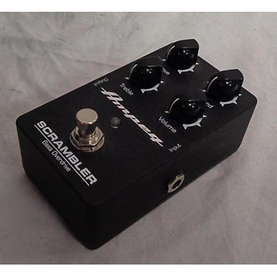 Ampeg Scrambler Bass Effect Pedal
