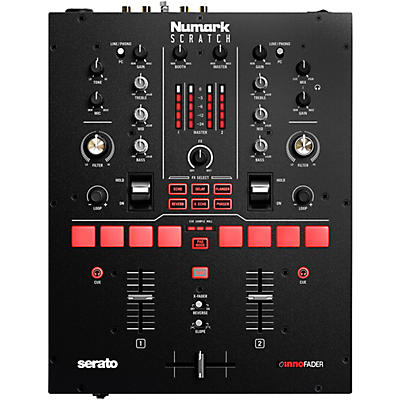 Numark Scratch 2-Channel DJ Mixer for Serato DJ Pro