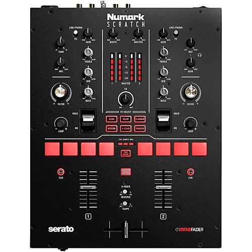 Numark Scratch 2-Channel DJ Mixer for Serato DJ Pro