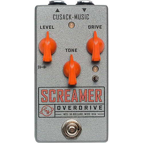 Cusack Music Screamer Overdrive Effects Pedal