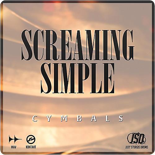 Joey Sturgis Drums Screaming Simple Cymbals