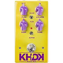 KHDK Scuzz Box Fuzz Effects Pedal