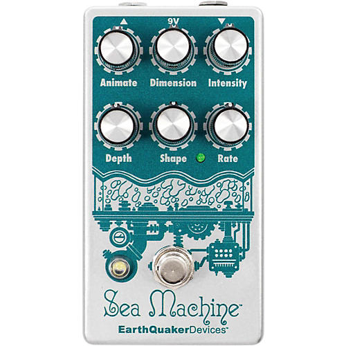 Earthquaker Devices Sea Machine Super Chorus Guitar Effects Pedal v3 Condition 1 - Mint