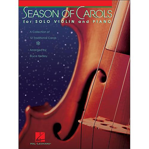 Hal Leonard Season Of Carols (Easy Solo Violin And Piano)