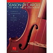 Hal Leonard Season of Carols (Easy Solo Cello and Piano) Instrumental Folio Series