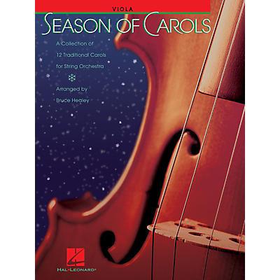 Hal Leonard Season of Carols (String Orchestra - Viola) Music for String Orchestra Series Arranged by Bruce Healey