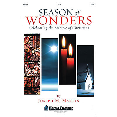 Shawnee Press Season of Wonders (RehearsalTrax CDs (Set of 4)) REHEARSAL TX Composed by Joseph M. Martin
