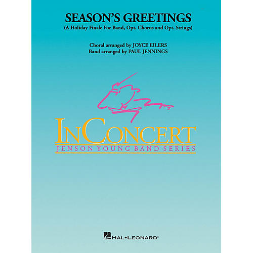 Hal Leonard Season's Greetings - Young Concert Band Level 3 arranged by Paul Jennings