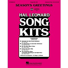 Hal Leonard Season's Greetings (Song Kit #38) UNIS/2PT Arranged by Various Arrangers