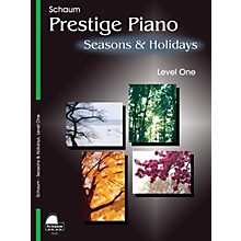 SCHAUM Seasons & Holidays (Level 1 Elem Level) Educational Piano Book