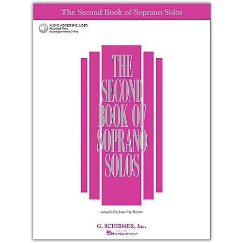 G. Schirmer Second Book/Online Audio Of Soprano Solos Book/Online Audio