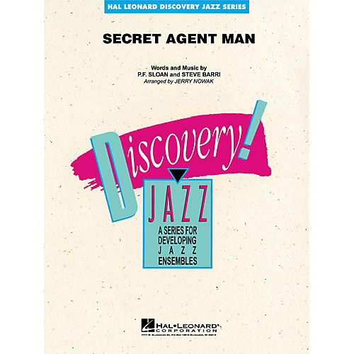 Hal Leonard Secret Agent Man Jazz Band Level 1-2 Arranged by Jerry Nowak