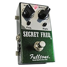 Open BoxFulltone Secret Frequency Overdrive/Distortion Guitar Effects Pedal