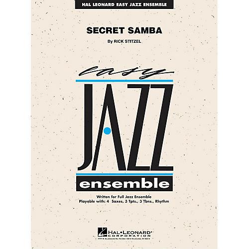 Hal Leonard Secret Samba Jazz Band Level 2 Composed by Rick Stitzel