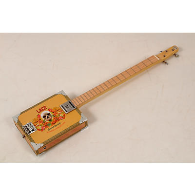 Lace Secret Society 3 String Acoustic-Electric Cigar Box Guitar