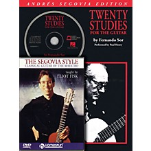 Homespun Segovia Guitar Bundle Pack Homespun Tapes Series Performed by Andrés Segovia