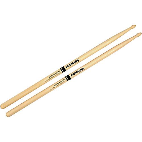 Promark Select Balance Forward Balance Wood Tip Drumsticks .535 in. Diameter Forward Balance