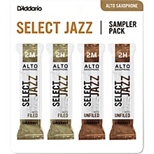 D'Addario Woodwinds Select Jazz Alto Saxophone Reed Sampler Pack