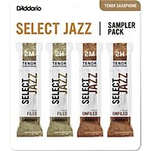 Select Jazz Tenor Saxophone Reed Sampler Pack 2