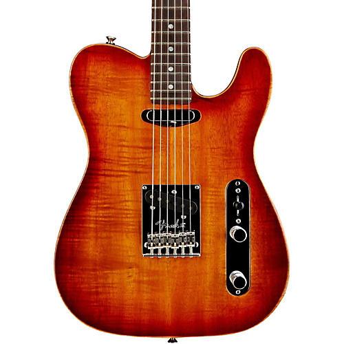 Fender Select Koa Top Telecaster Electric Guitar