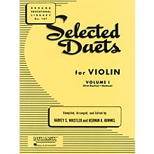 Rubank Publications Selected Duets for Violin - Volume 1 Ensemble Collection Series Arranged by Harvey S. Whistler