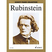 Schott Selected Piano Works Schott Series Softcover Composed by Anton Rubinstein Edited by Wilhelm Ohmen