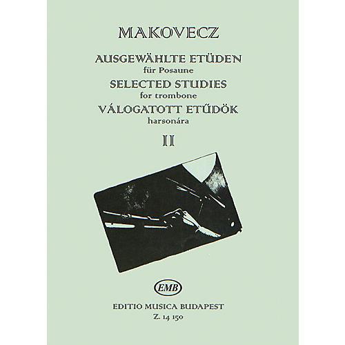 Editio Musica Budapest Selected Studies - Volume 2 (for Trombone) EMB Series